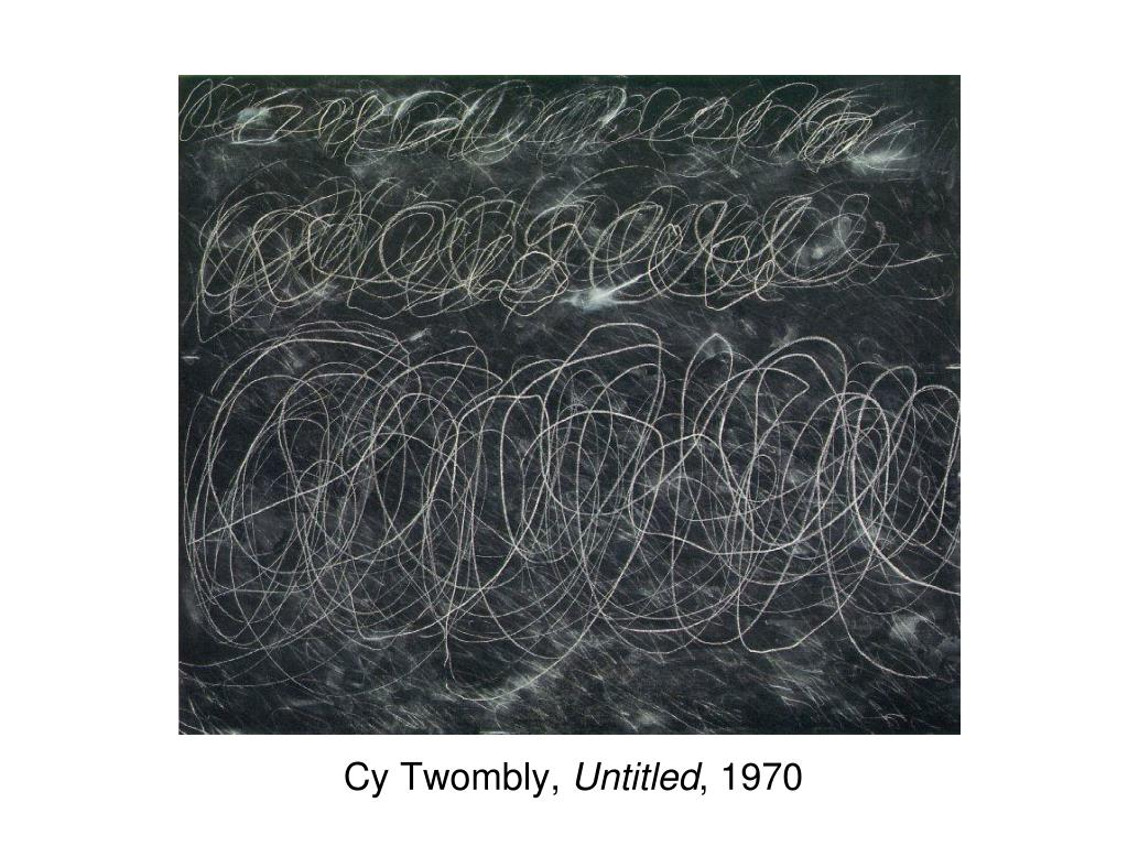 Cy Twombly,