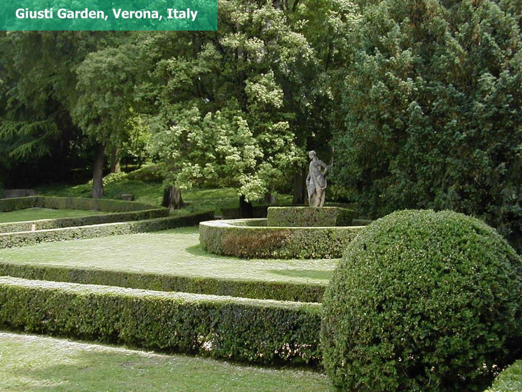 Giusti Garden, Verona, Italy