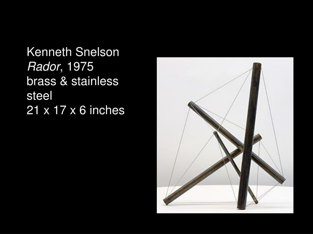 Kenneth Snelson