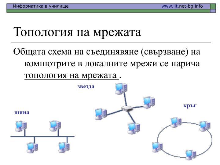 Топология на мрежата