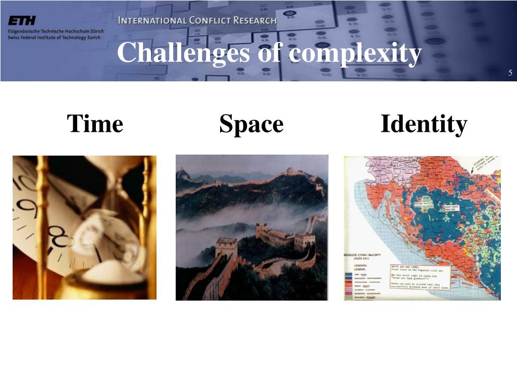 Challenges of complexity
