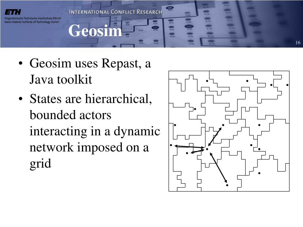Geosim
