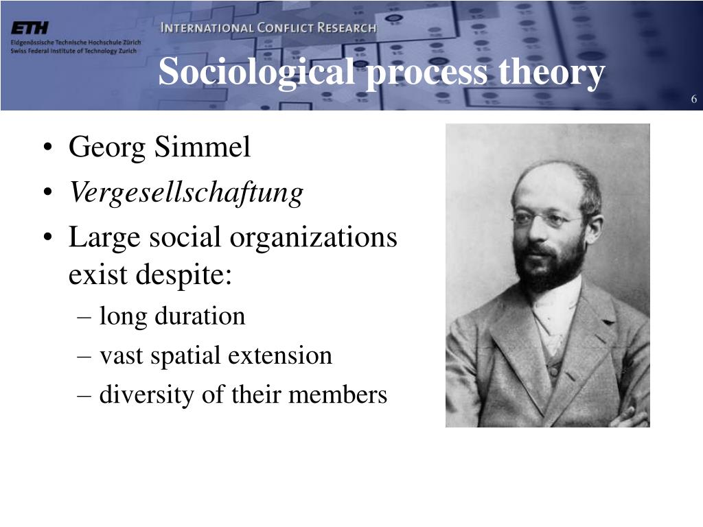 Sociological process theory