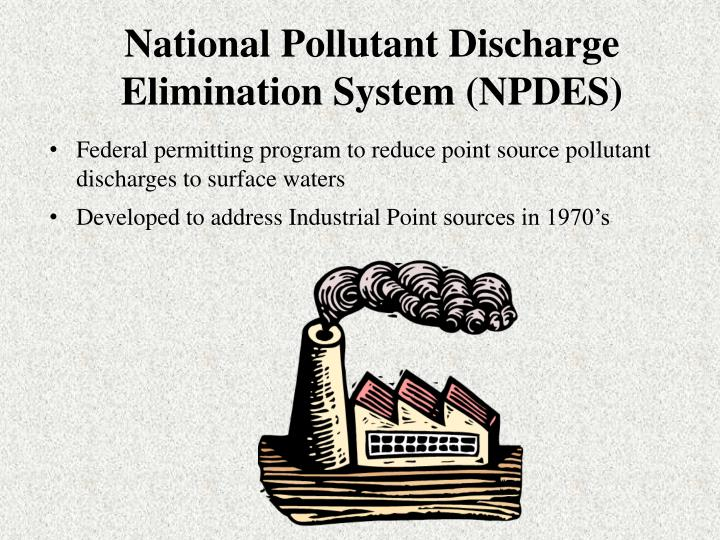 National pollutant discharge elimination system npdes l.jpg