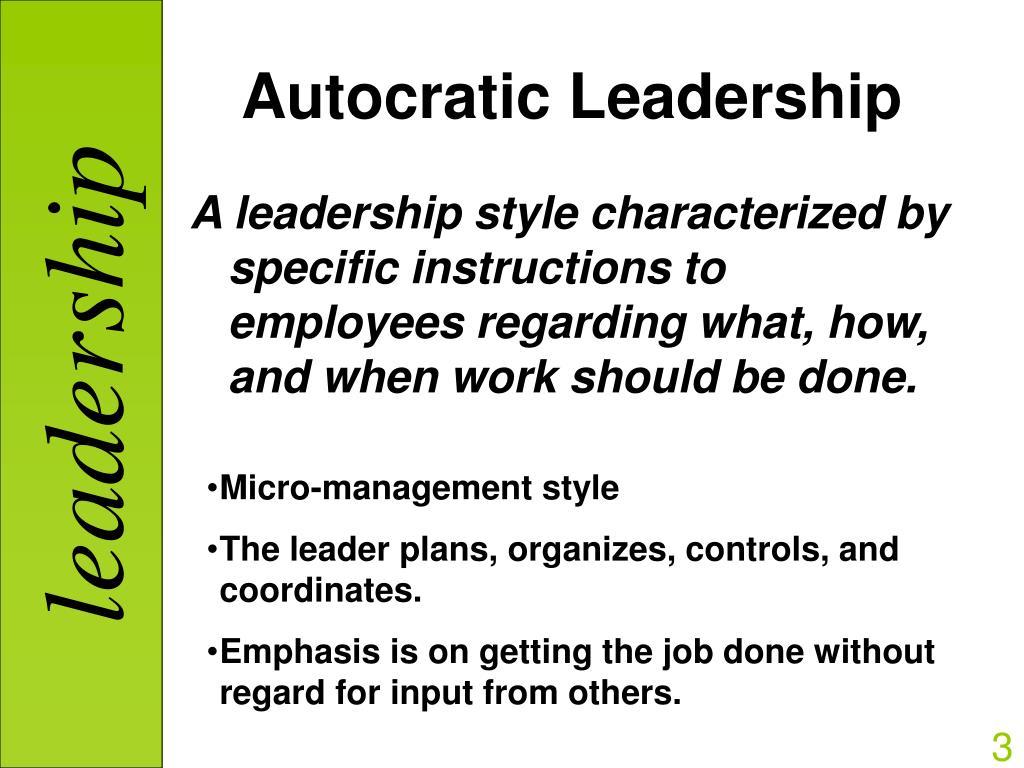 essay on democratic leadership style