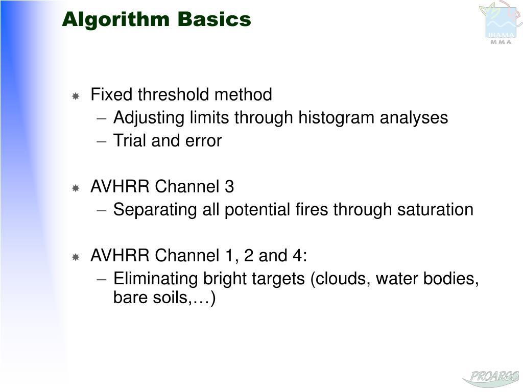 Algorithm Basics