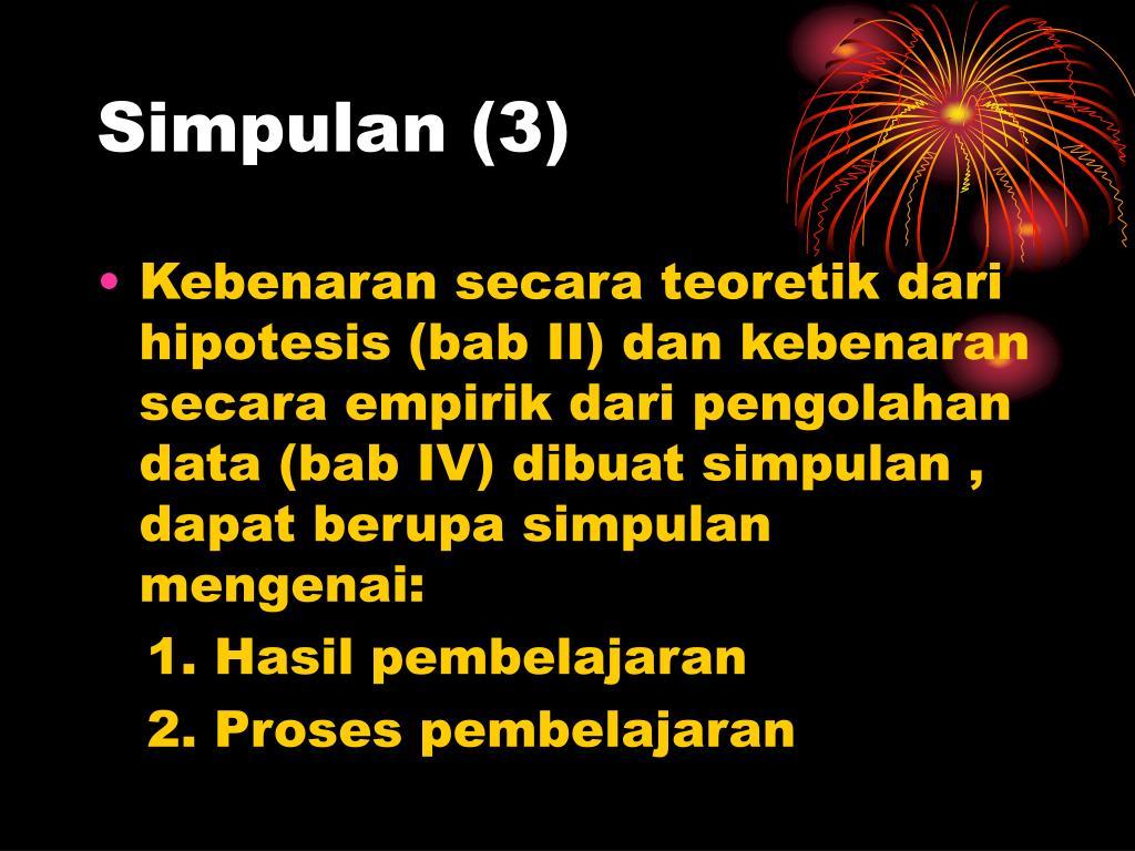 Simpulan (3)