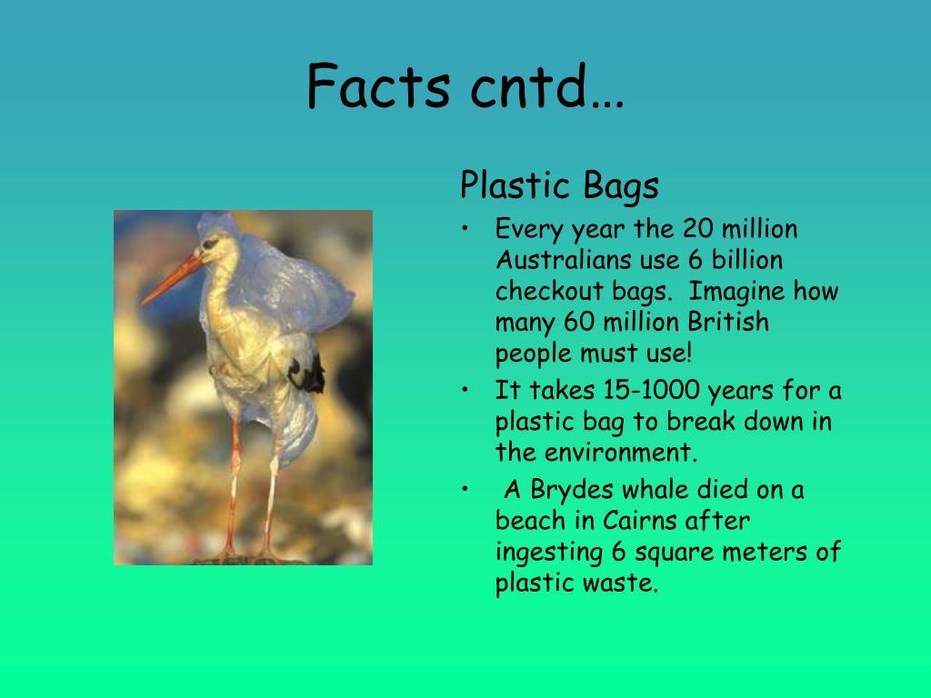 Facts cntd…