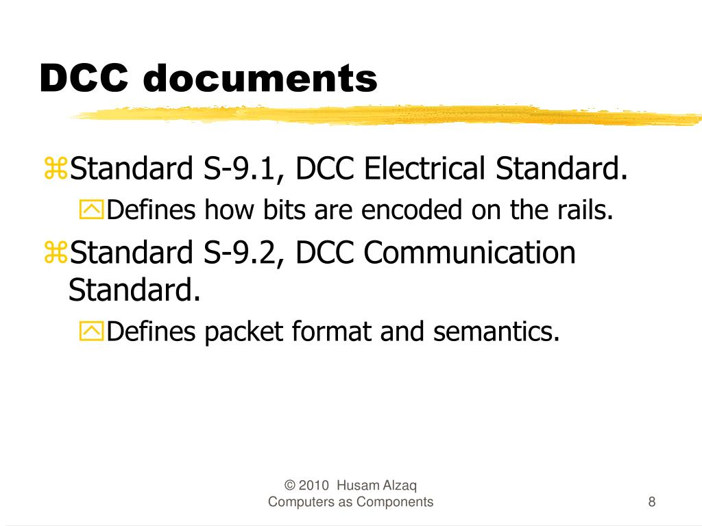 DCC documents