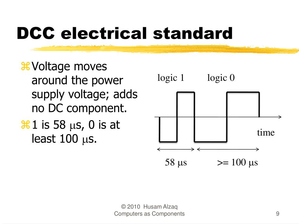 DCC electrical standard