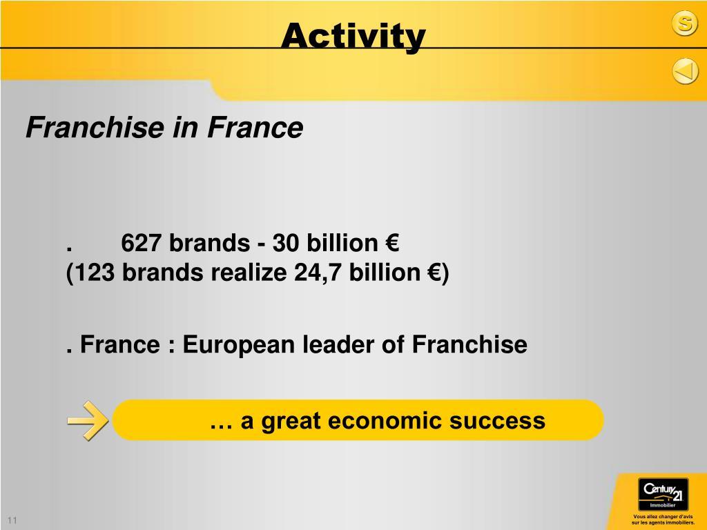 … a great economic success