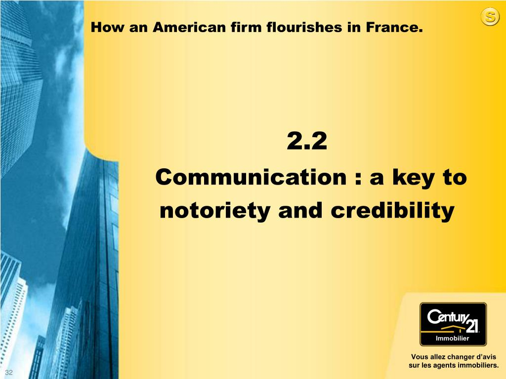 How an American firm flourishes in France.