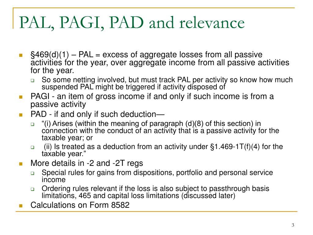 Ppt Irc 167 469 Passive Activities Part 3 Powerpoint