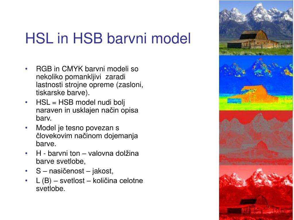 HSL in HSB