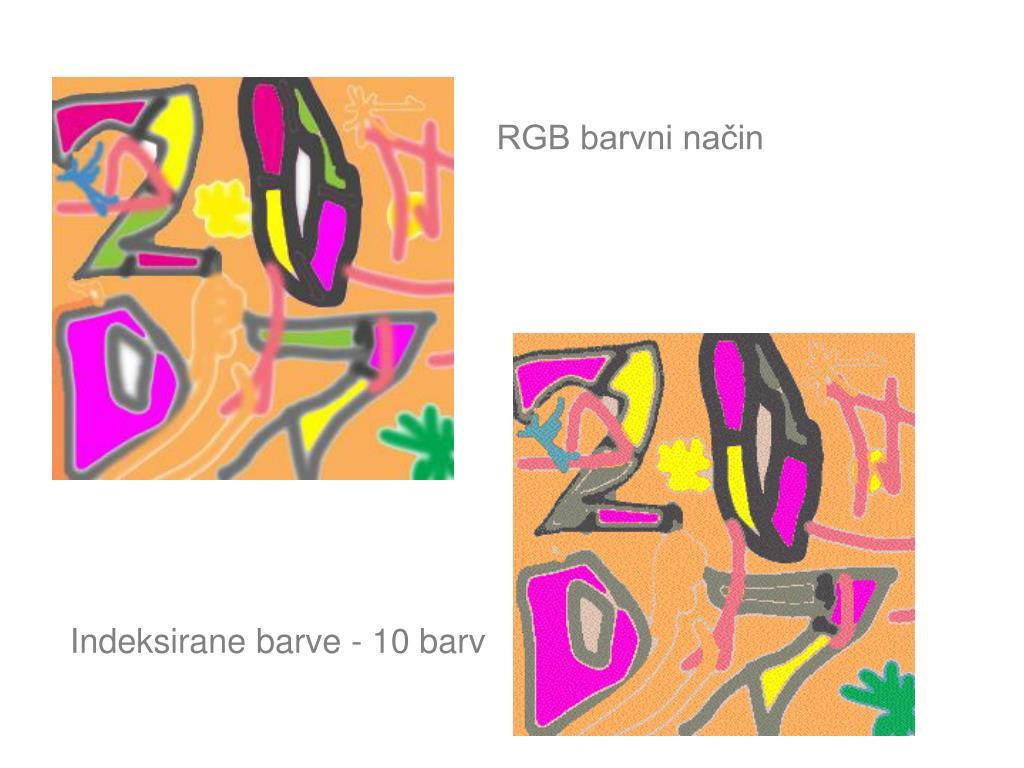 RGB barvni način