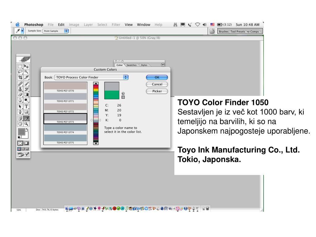 TOYO Color Finder 1050