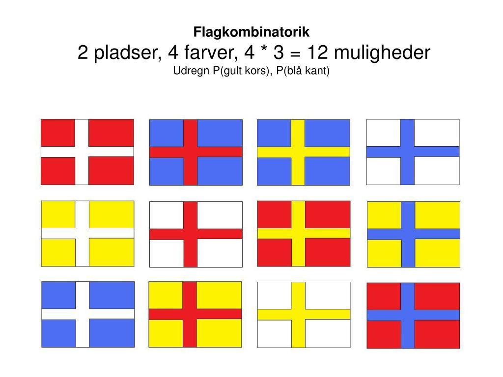 Flagkombinatorik