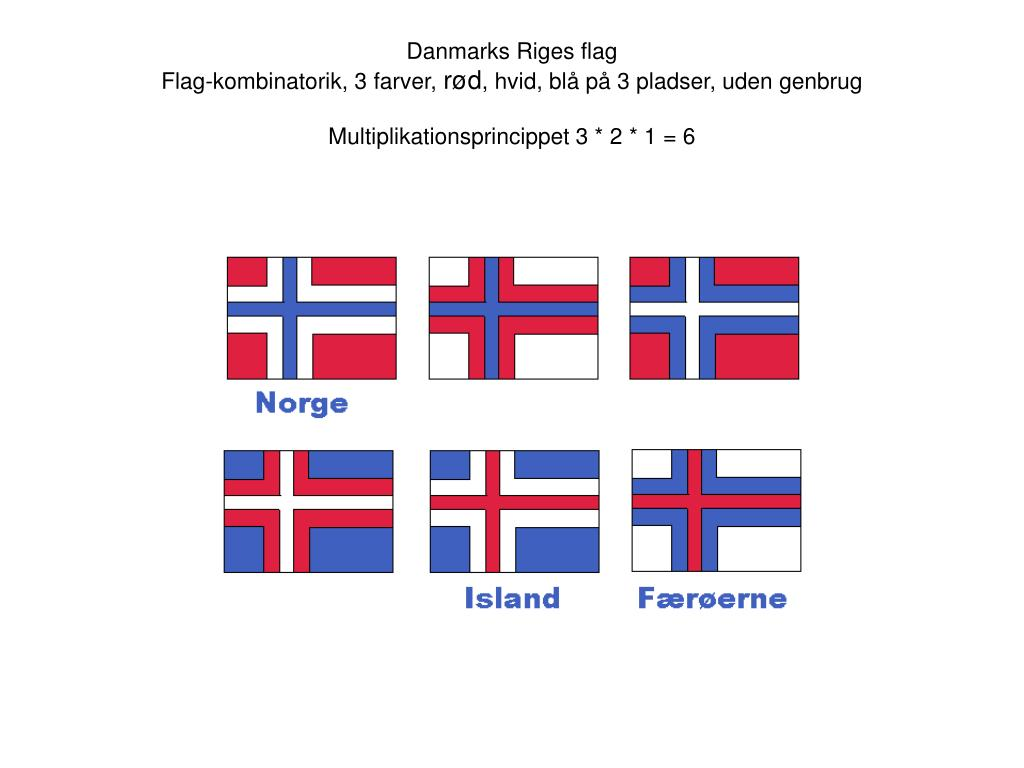 Danmarks Riges flag
