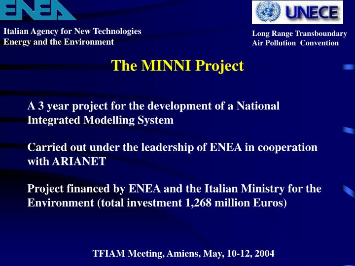 The minni project2