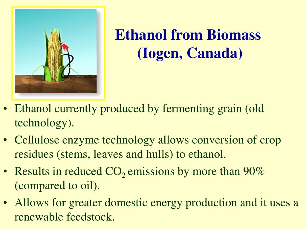 Ethanol from Biomass