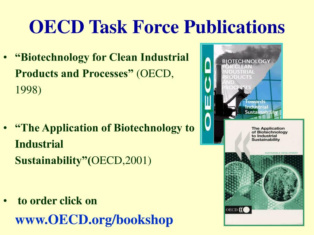 OECD Task Force Publications