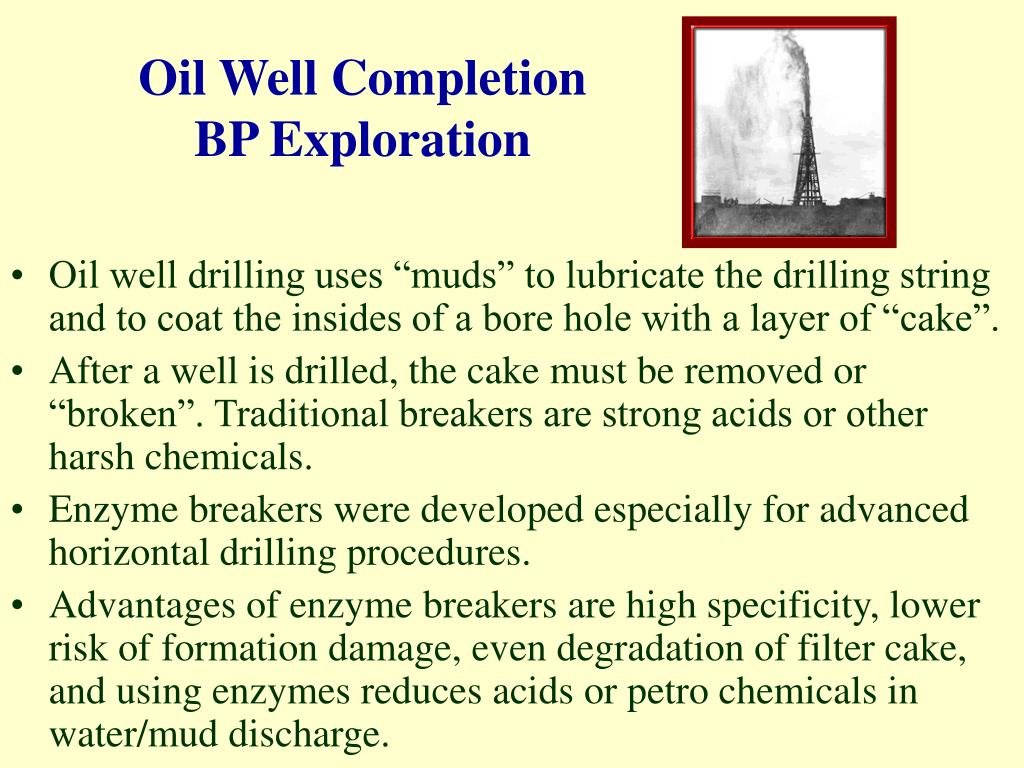 Oil Well Completion
