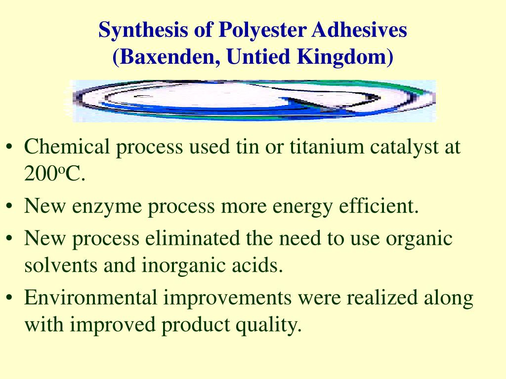 Synthesis of Polyester Adhesives