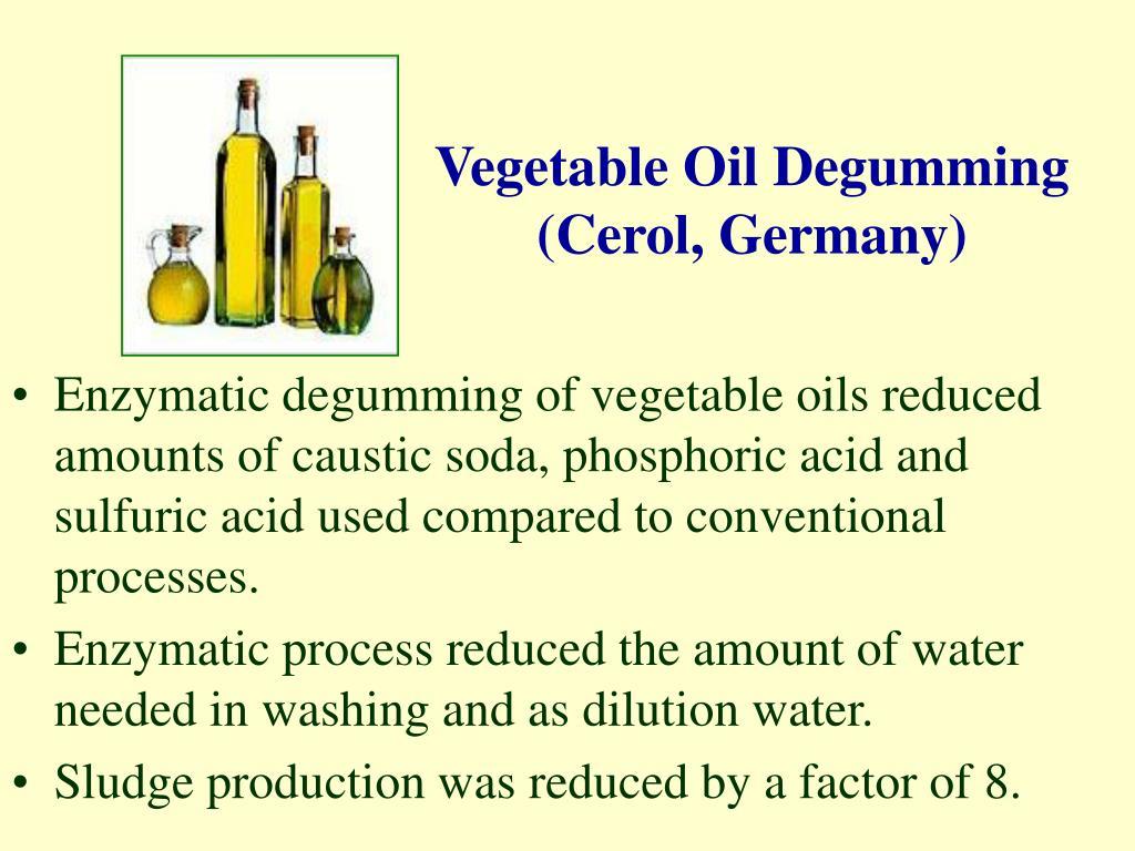 Vegetable Oil Degumming