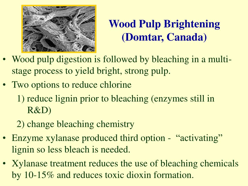 Wood Pulp Brightening
