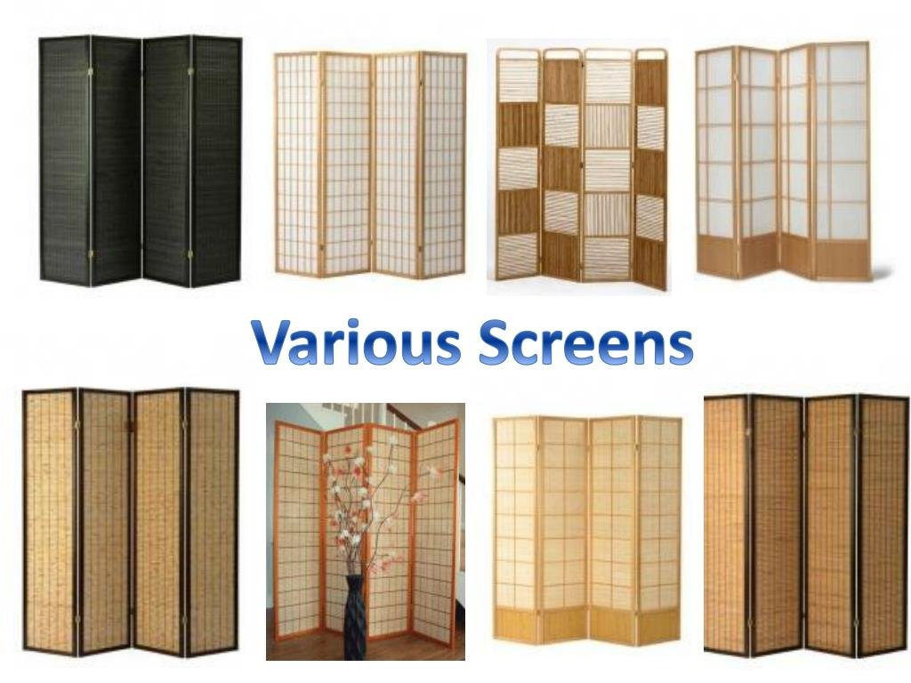 Various Screens