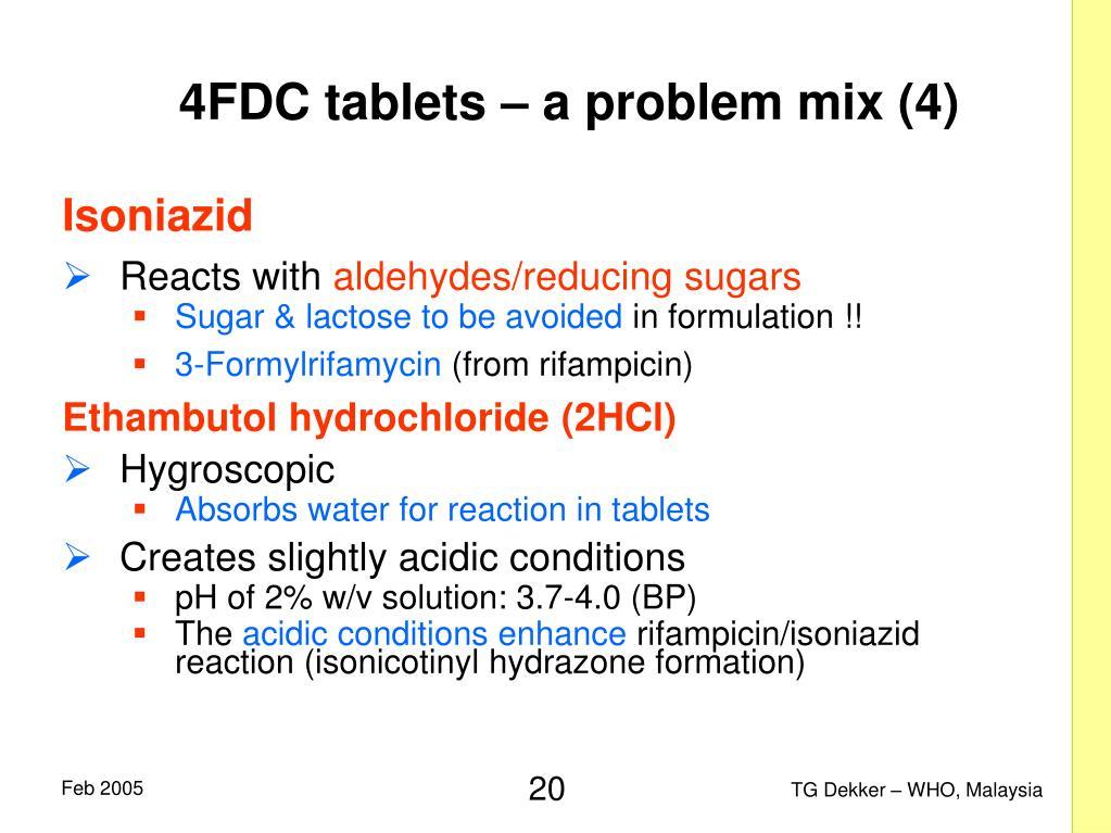 4FDC tablets – a problem mix (4)