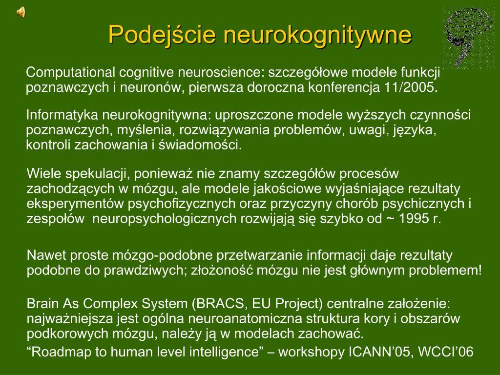 Podejście neurokognitywne