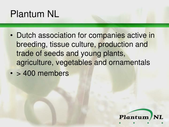Plantum NL