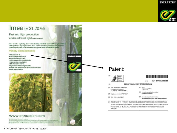 Patent: