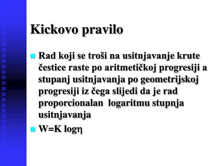 Kickovo pravilo