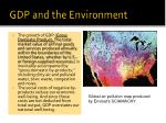 gdp and the environment