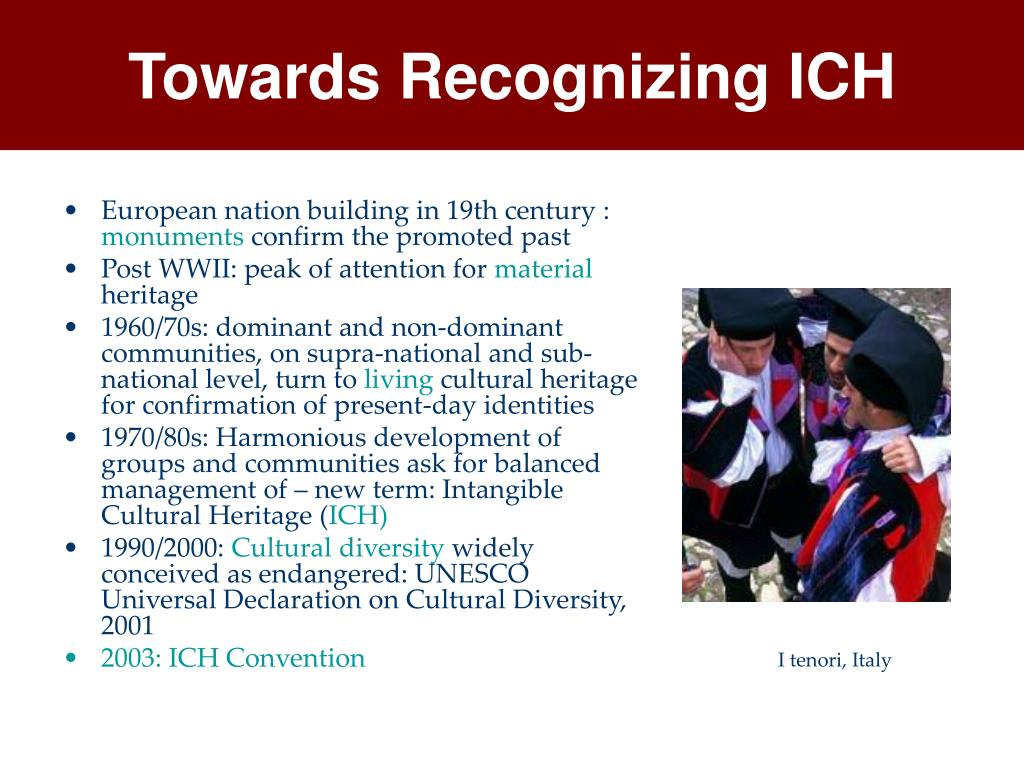 Towards Recognizing ICH