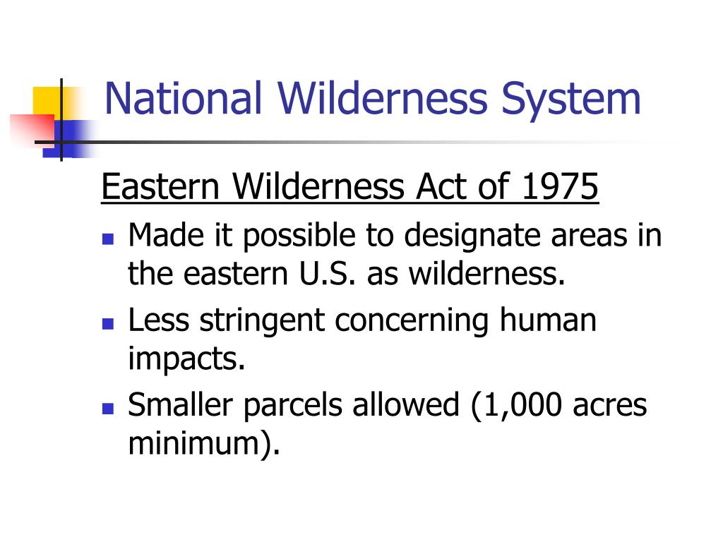 National Wilderness System