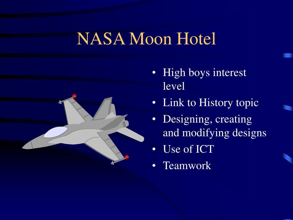 NASA Moon Hotel