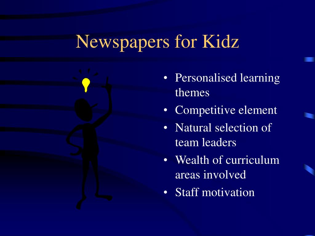 Newspapers for Kidz
