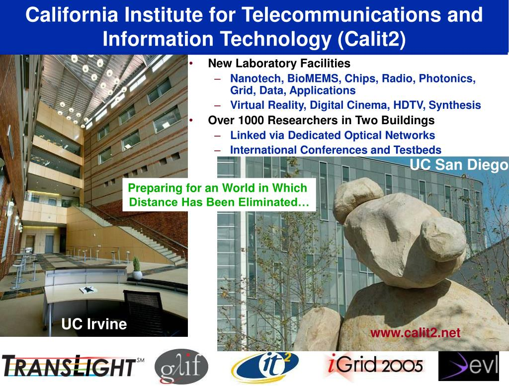 California Institute for Telecommunications and Information Technology (Calit2)