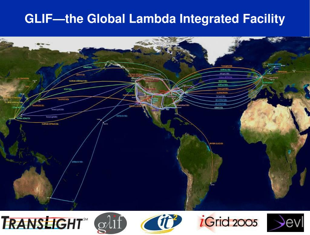 GLIF—the Global Lambda Integrated Facility