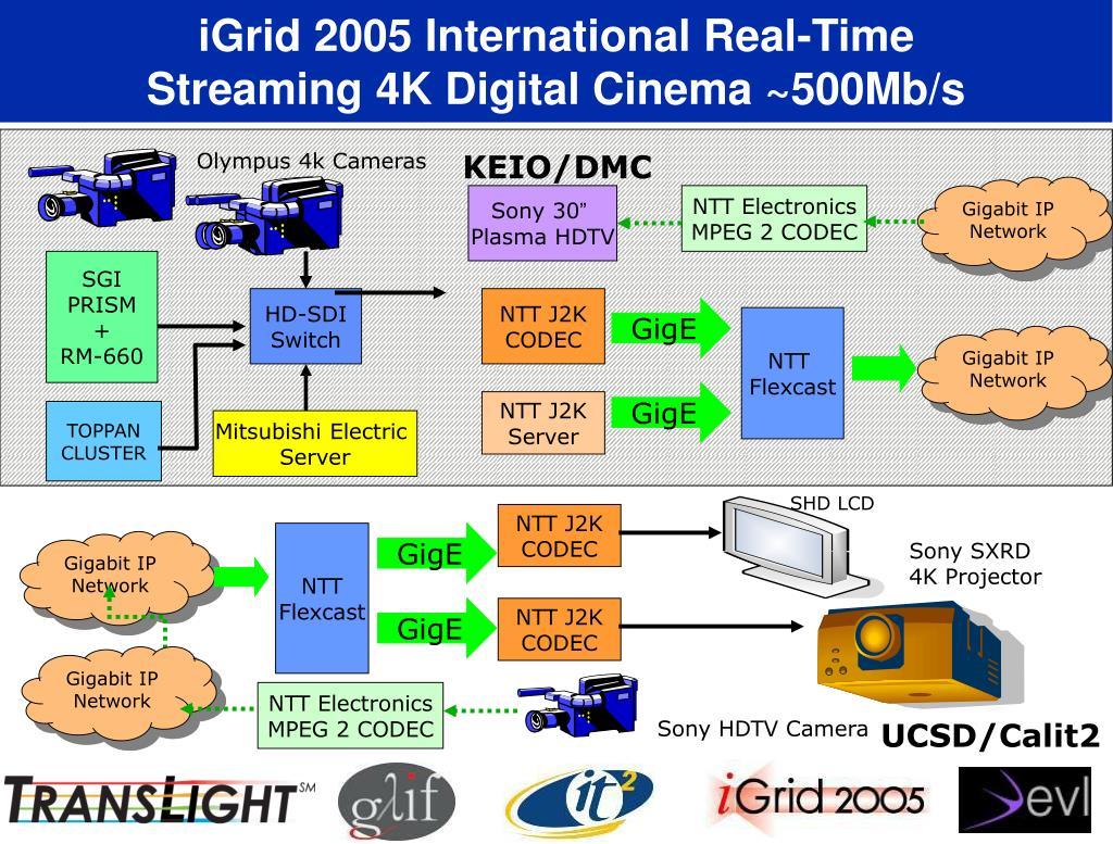 iGrid 2005 International Real-Time