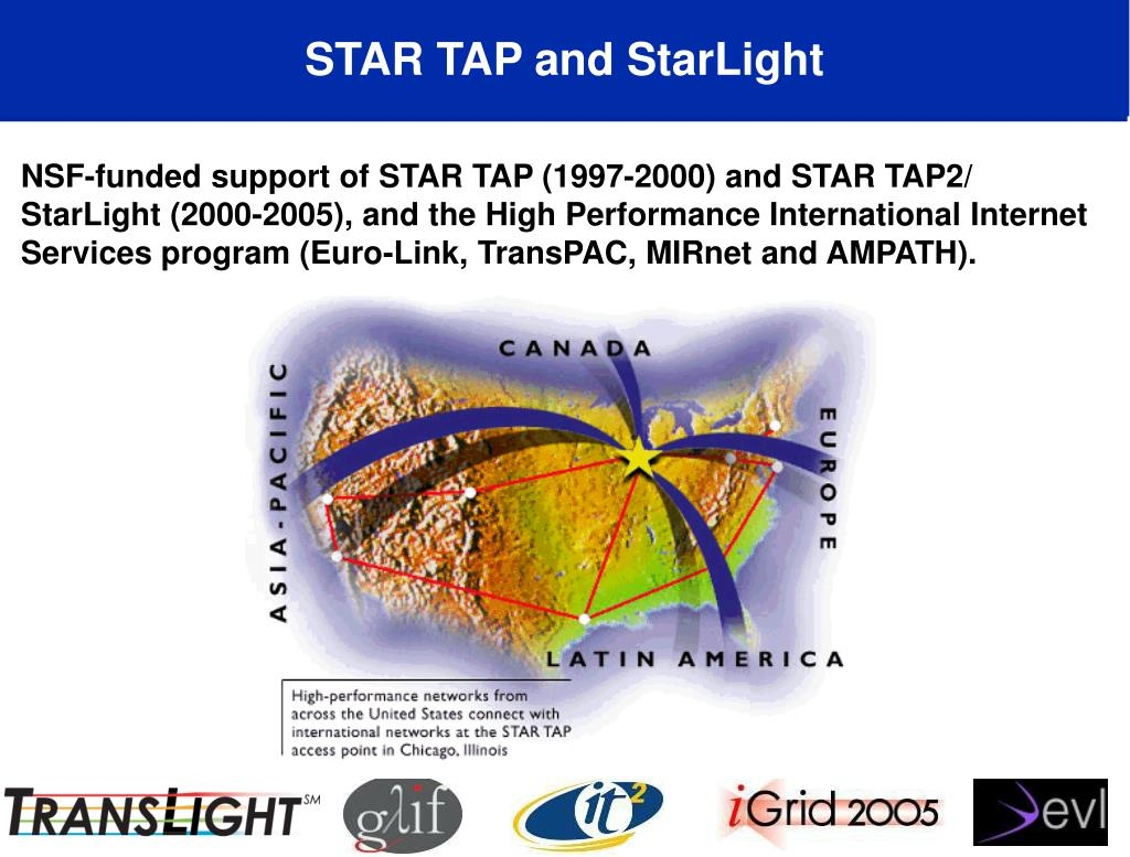 STAR TAP and StarLight