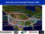 starlight and translight partners 2006