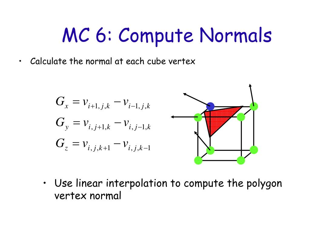 MC 6: Compute Normals