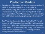 predictive models10