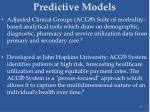 predictive models8