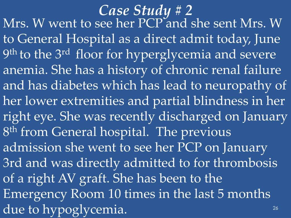Case Study # 2
