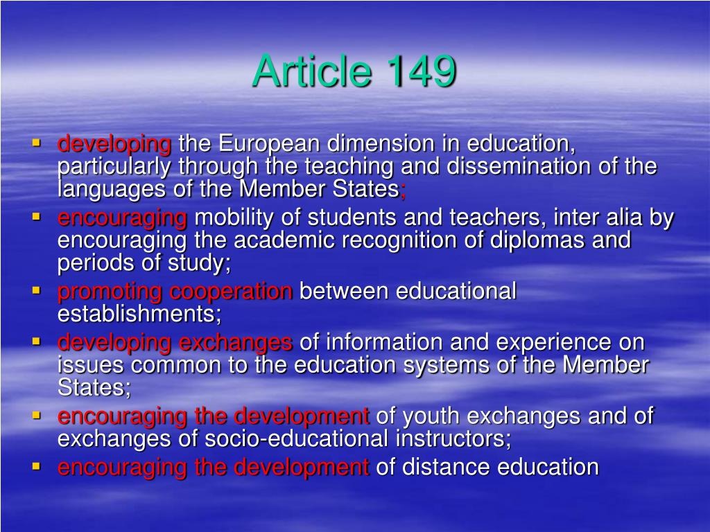 Article 149